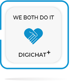 web chat software handle the visitor